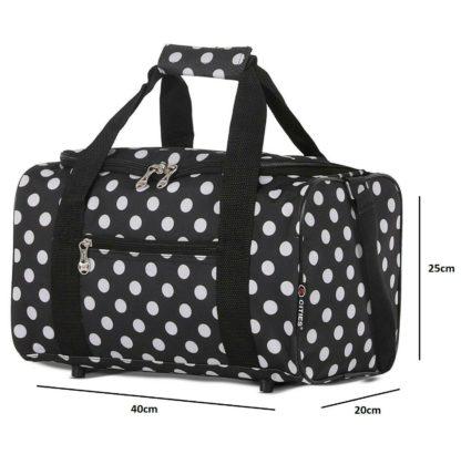 Pre Packed Maternity Hospital Bag Luxury Polka Dot Birth Bag 8